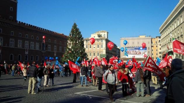 sciopero generale roma 12 dicembre 2014