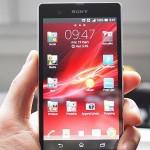 z3 xperia smartphone