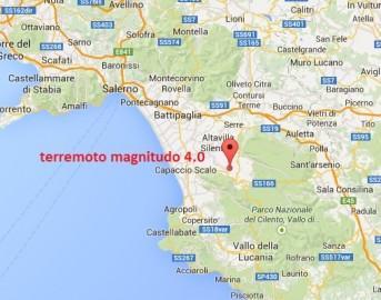 Terremoto oggi a Salerno: scossa magnitudo 4 avvertita anche a Potenza e Avellino