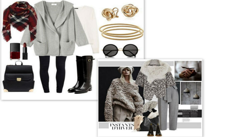 Moda look trendy inverno 2015