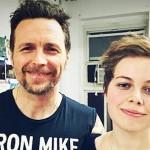 Jovanotti e sua figlia Teresa foto social
