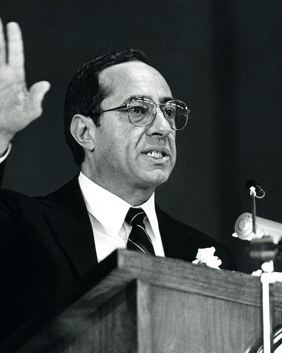 Mario Cuomo nel 1987