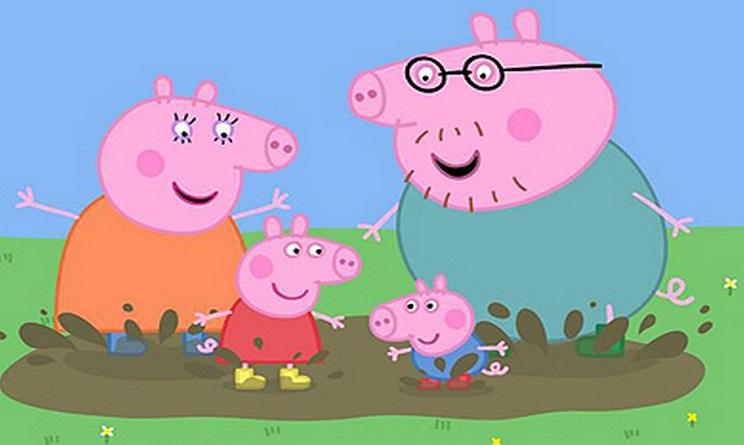 La famiglia di Peppa Pig