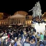 Piazza del Plebiscito funerali Pino Daniele