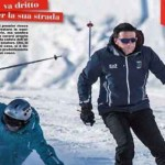 Matteo Renzi, settimanale Chi, vacanze a Courmayeur
