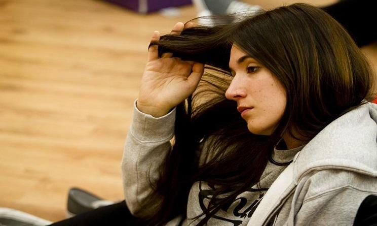 La cantante Silvia