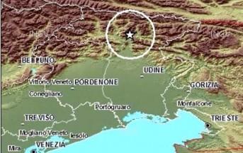 Terremoto a Udine, scossa di magnitudo 4.1: nessun ferito
