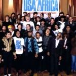 Usa for Africa registrazione We Are the World