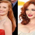 tendenza capelli 2015, capelli rossi