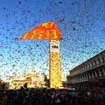 Carnevale Venezia 2015 svolo del leon feste eventi Arsenale