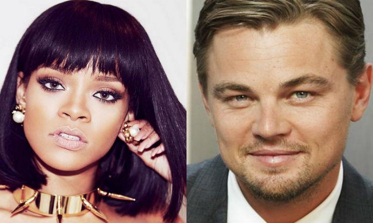 Leonardo DiCaprio e Rihanna bacio