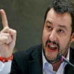 Matteo Salvini maestra figlia