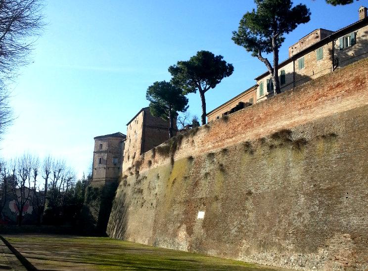 santarcangelo mura medievali
