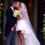 Alessia Marcuzzi e Paolo Calabresi Marconi di nuovo sposi