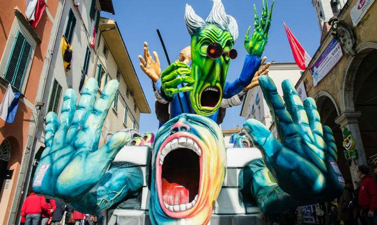 Carnevale Foiano 2015 carro allegorico