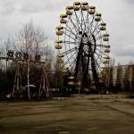 Chernobyl Pripyat sorvolata da un drone