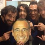 scherzo Sanremo 2015 gruppo Kutso