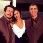 Belen Rodriguez promuove Luca e Paolo a Sanremo