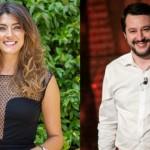 Elisa Isoardi sotto accusa per flirt con Salvini