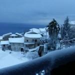 Gelo e neve in Calabria