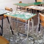 crolla solaio a scuola