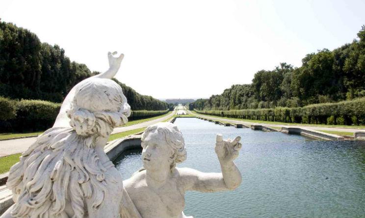 Reggia di Caserta Archivio Giardini Italiani
