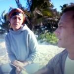Rocco Siffredi e Rachida Isola dei Famosi 2015