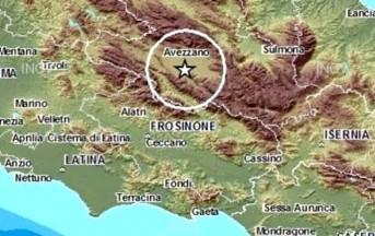 Terremoto in provincia de L'Aquila: scossa di magnitudo 3.9 percepita nella notte