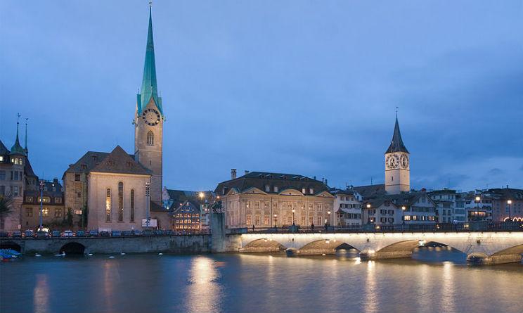 Zurigo top-ten città sicure 2015
