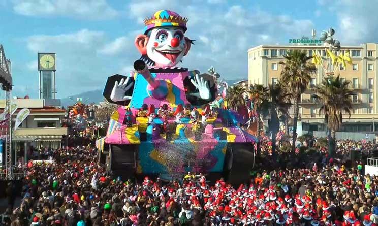 Carnevale Viareggio 2015 date carri feste rioni