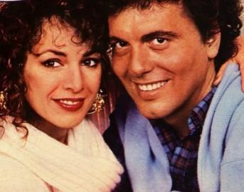 Dora Moroni e Cristian a Domenica Live: di nuovo insieme riabbracciano la nipotina