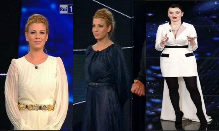 Pettinatura emma marrone sanremo 2013