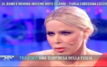 """Loredana Lecciso a Domenica Live: """"Vi dico la verità su me e Al Bano"""""""