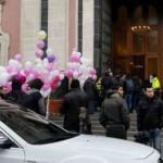 funerali della neonata morta a Catania
