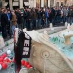 Scontria Piazza di Spagna tra tifosi olandesi e polizia