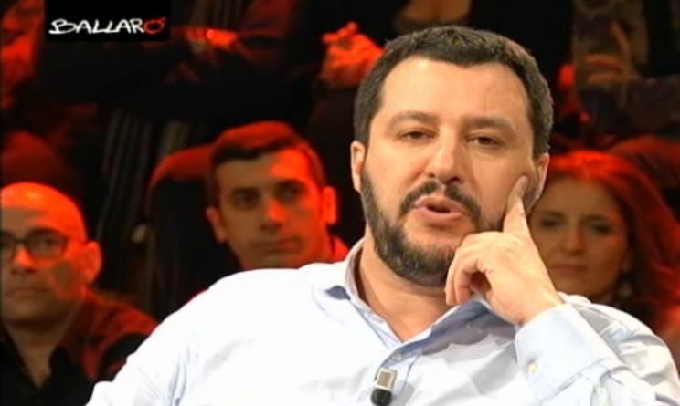 Matteo Salvini Napoli