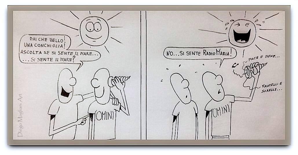 Interferenze Fedeli vignetta Diego Magliani