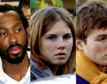 Omicidio Meredith: Amanda e Raffaele assolti, Rudy Guede unico colpevole