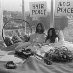 bed in per la pace John Lennon e Yoko Ono