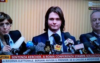 """Caso Meredith, conferenza stampa di Raffaele Sollecito: """"E adesso non chiamatemi più assassino"""""""
