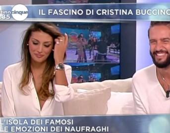 Cristina Buccino scollatura esagerata: sfiorato incidente piccante a Mattino 5