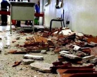 Bagheria, crolla soffitto scuola elementare: bimba di 6 anni ferita alla testa