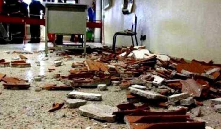 Bagheria, cadono calcinacci dal soffitto: bimbo in ospedale$