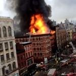 Esplosione a New York