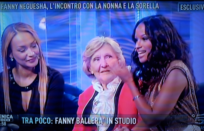 Fanny Neguesha a Domenica Live