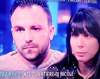 """Nicole morta a Catania, a Domenica Live parlano i genitori: """"I medici ci hanno sempre rassicurato"""""""