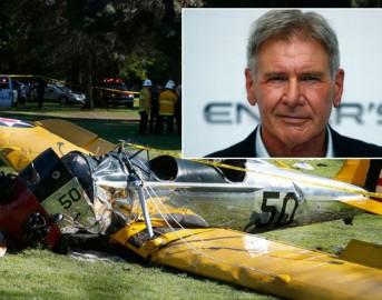 Harrison Ford precipita con l'aereo: ferito gravemente ma si riprenderà
