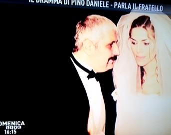 Pino Daniele, a Domenica Live intervista esclusiva al fratello Nello