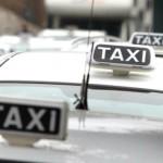 tassista minaccia collega con spada