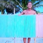 Rocco Siffredi nudo sull'Isola dei Famosi